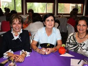 Martha Soledad Duarte, Clara Eugenia Hernández y Ana Teresa Guzmán.