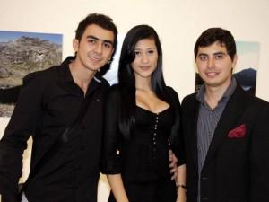 Sergio Naranjo, Carolina Flórez y Felipe Linares.