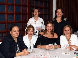 Ana Milena Sánchez de Forero, Eugenia Peña Vargas, María Consuelo Rojas Bonilla, Elvira Mora Fajardo, Emma Cecilia Vargas y Sandra Cecilia Cortés.