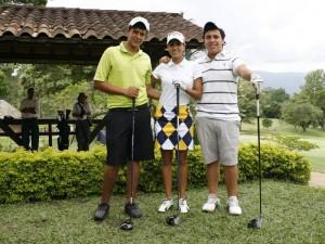 Elkin Acevedo, Victoria Lovelady y Andrés Gómez.