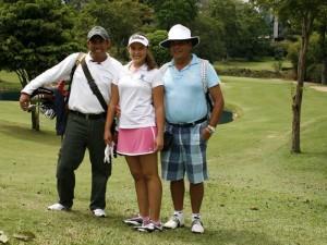 Fernando Villamizar, Laura Sojo y Mario Sojo.