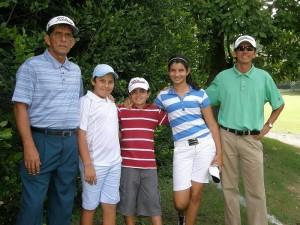 Jorge Ramírez, Felipe Ramírez, Jesús Fernando Ramírez, María Lucía Ramírez y Mauricio Alvarado.