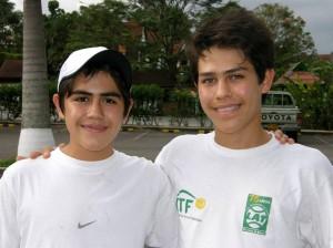 Camilo Andrés Núñez y Luis Carlos Núñez.
