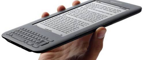 El placer de leer en un Kindle