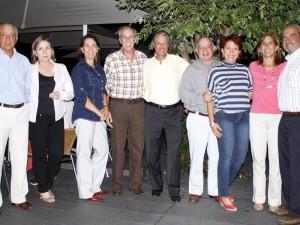 Eduardo Dorado, Lucero Dorado, Ángela Sanín, Jj Kunda, Antonio Herrera, Gustavo González, Tucha de González, Lucía Patiño y Álvaro Prada.