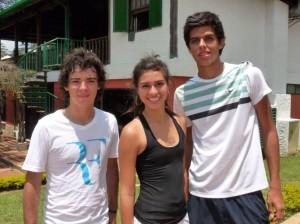 Juan Felipe Trillos, Laura Rey y Daniel Villamizar.