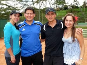 Sandra Parra, Julián González, César Hernández y Zully Acevedo.