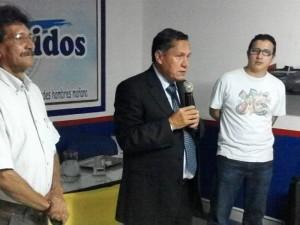 En reunión cumplida el pasado miércoles, habitantes de Cañaveral estuvieron con el alcalde de Floridablanca, Jaime Flórez.