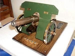 Cañón austríaco 75 mm Krupp