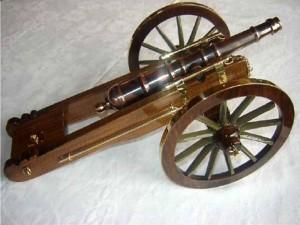 Réplica cañón chino modelo 1867