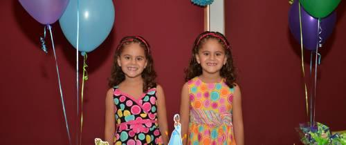 Piñata de Maria Camila y Maria Gabriela