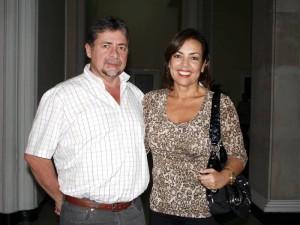 Luis Guillermo Gómez y Mónica Escobar.