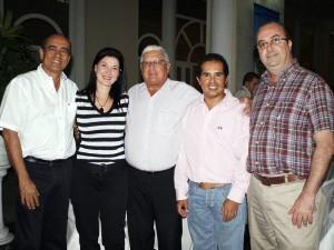 Jairo López, Rubi Amorocho, Sergio Mestre, Roberto Aguilera y Alberto Ordóñez.
