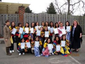 Estudiantes del Gimnasio Cantillana asistieron al internado de Farrington´s School.