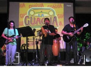 Integrantes de La Guagua.