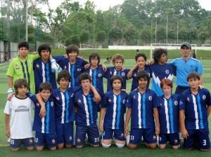 Selección de fútbol del Colegio Panamericano.