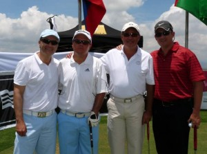 Alejandro Bravo, Juan Felipe Ríos, Alfredo Mattos y Diegos Yáñez.