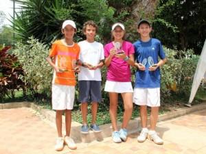 José David Carvajal, Nicolás Freire, Valentina Osorio y Mauricio Manrique Samer.