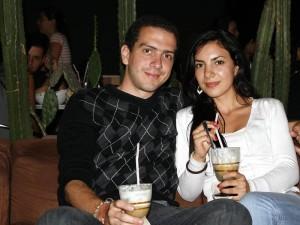 Juan Diego Fuentes y Eliana Pérez.