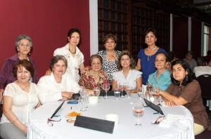 María A., Esther, Hortencia, Nubia, Cecilia, Nubia A., Aminta, Ana Lucía, Gladis V. y Luz Estela.