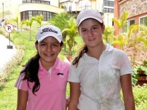 María Alejandra Vesga y Juanita Acosta.