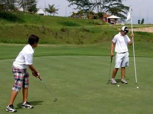 Ruitoque seleccionó a sus deportistas para el Zonal de Golf.