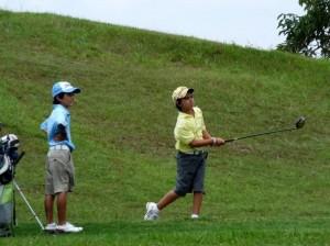 Fueron 24 deportistas que clasificaron al zonal de golf.