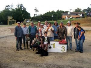 El Primer Torneo de Pesca reunió a 14 participantes.