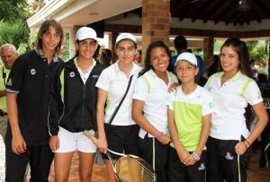 Juan Martín Ramírez, María Toro, Luisa Toro, Paola Rodriguez, Yuliana Monroy y Valentina Henao.