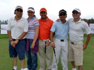Sergio Rivero, Carolina Posada, Juan C. Méndez, Jaime Méndez y Orlando Forero.