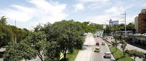 Bonita vista de la autopista