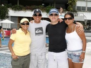 Damaris Peñalosa, Carlos Giraldo, Jaime Corredor y Andrea Moreno.