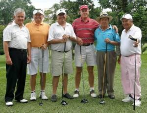 Alfonso Forero, William Castro, Saúl Duarte, Gabriel García, Juan Manuel Arias y Javier Torres.