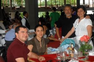 Nelson Vargas, Jenny Escallón, Rocío Alzate y Héctor Escallón.