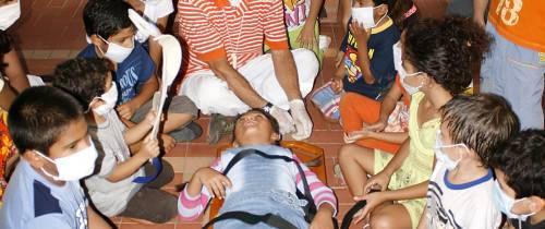 Villa Cañaveral celebró el Día del Niño