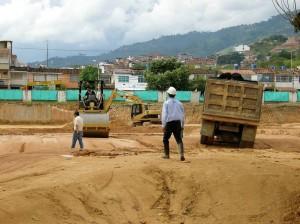 Los trabajos en el terreno de lo que será Acualago empezaron en forma desde enero.
