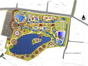 Además de los trabajos en el terreno se esta trabajando en todo el tema de funcionamiento y operación del parque.
