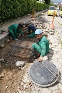 El día que Gente de Cañaveral estuvo en el sitio encontró que se estaban haciendo los arreglos pertinentes.