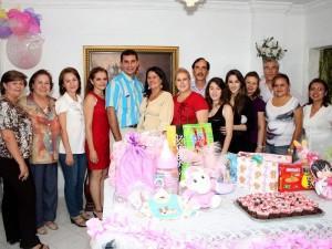 Se celebró el pronto nacimiento de Lucía Fernanda Álvarez Duarte.