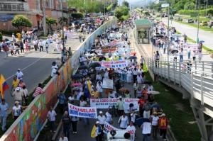 El cobro de valorización es uno de los temas más sensibles para la comunidad de Cañaveral y sus alrededores, a tal punto que los ha hecho movilizar en tres ocasiones.