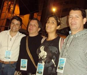 Javier Félix, Henry Camargo, Leidy Mantilla y Héctor Anaya quienes también estuvieron detrás del concierto. (FOTO Suministrada)