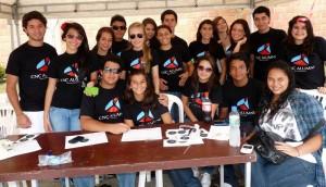 Algunos de los participantes del Family Fair. (FOTOS Nelson Díaz)