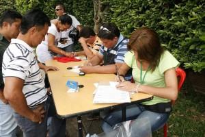 La inscripción es para las personas que no han votado desde 1990 o desean cambiar el puesto de votación. (FOTO Mauricio Betancourt)