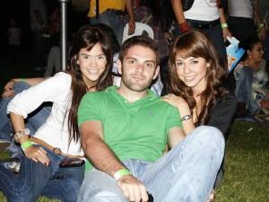 Paola Hurtado, Maximiliano Grillo y Mónica Camacho.