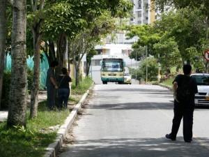 La comunidad se queja del mal servicio de la ruta de Cañaveral debido a su baja frecuencia. (FOTO Mauricio Betancourt)