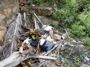 El lugar se ha convertido en el favorito para acumular basuras.