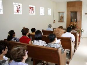 Monseñor Néstor Navarro invita a toda la comunidad que quiera hacer uso de este oratorio para que se acerque al lugar. (FOTO Mauricio Betancourt)