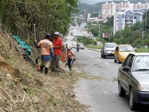 Por el sector de Cañaveral también se hicieron las primeras podas.