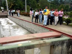 La planta de tratamiento de aguas residuales, ubicada por el anillo vial, siempre ha sido señalada de causar malos olores en Cañaveral. (FOTO Archivo)
