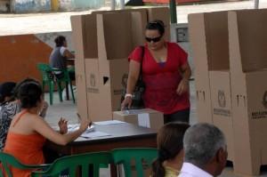 La consulta conservadora despeja el panorama para la Alcaldía de Floridablanca. (FOTO Jaime del Río)